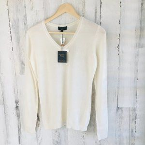 Charter Club Luxury 100% Cashmere V-Neck Pullover